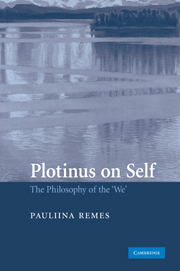 Plotinus on Self