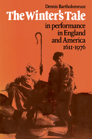 'The Winter's Tale' in Performance in England and America 1611–1976