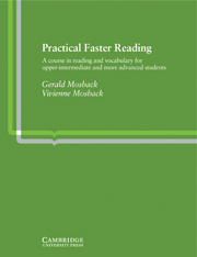 Practical Faster Reading