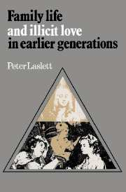 Family Life and Illicit Love in Earlier Generations