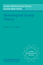 Homological Group Theory