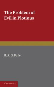 The Problem of Evil in Plotinus