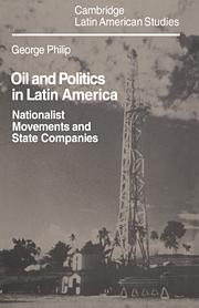Oil and Politics in Latin America