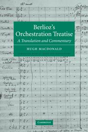 Berlioz's Orchestration Treatise