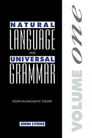 Natural Language and Universal Grammar