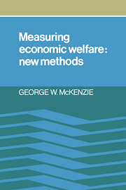 Measuring Economic Welfare