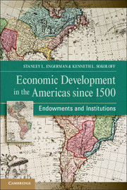 Economic Development in the Americas since 1500