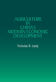 Agriculture in China's Modern Economic Development