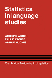 Statistics in Language Studies