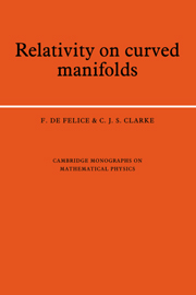 Relativity on Curved Manifolds