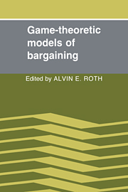 Game-Theoretic Models of Bargaining