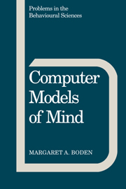 Computer Models of Mind