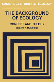The Background of Ecology