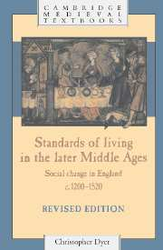 Standards of Living in the Later Middle Ages