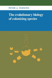 The Evolutionary Biology of Colonizing Species
