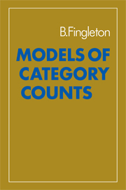 Models of Category Counts
