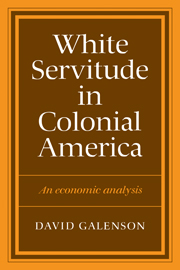 White Servitude in Colonial America
