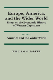 Europe, America, and the Wider World