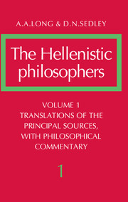 The Hellenistic Philosophers