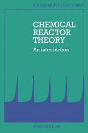 Chemical Reactor Theory
