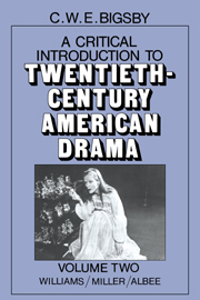 A Critical Introduction to Twentieth-Century American Drama
