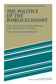 The Politics of the World-Economy
