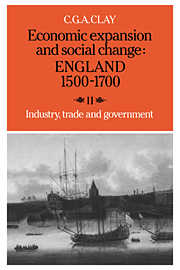 Economic Expansion and Social Change: England 1500–1700