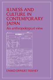 Illness and Culture in Contemporary Japan