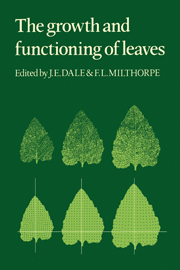 The Growth and Functioning of Leaves