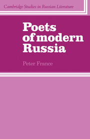 Poets of Modern Russia