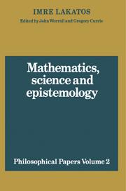 Mathematics, Science and Epistemology