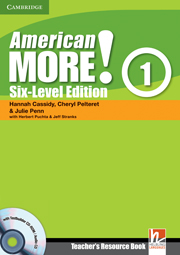 American More! Six-Level Edition Level 1