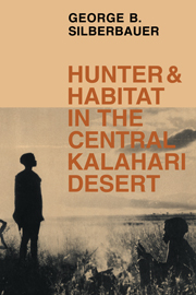Hunter And Habitat In The Central Kalahari Desert