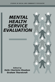 Mental Health Service Evaluation