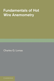 Fundamentals of Hot Wire Anemometry