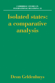 Isolated States