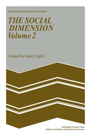 The Social Dimension