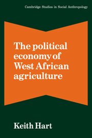 The Political Economy of West African Agriculture