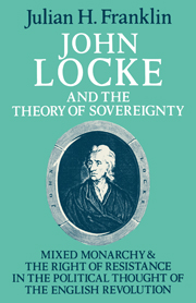 John Locke and the Theory of Sovereignty