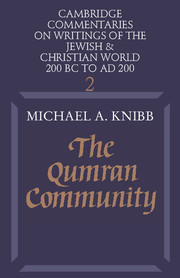 The Qumran Community