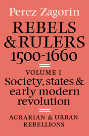Rebels and Rulers, 1500–1600