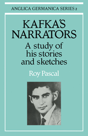 Kafka's Narrators