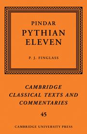 Pindar: 'Pythian Eleven'