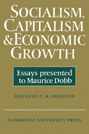 Socialism, Capitalism and Economic Growth