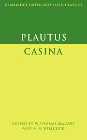 Plautus: Casina