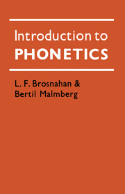Introduction to Phonetics