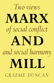Marx and Mill