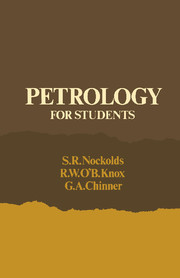 Petrology for Students