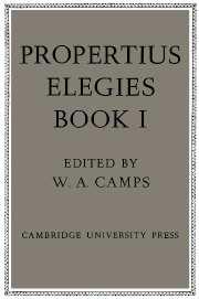 Propertius: Elegies