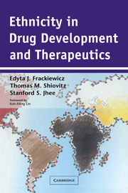 Ethnicity in Drug Development and Therapeutics